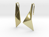 sWINGS Origami Earrings 3d printed