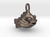 Happy Goldfish Pendant Charm 3d printed