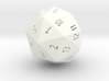 D40 Spindown classic Design 40 sided die 3d printed