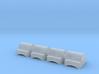 concave nub set 3d printed