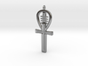 Egyptian Ankh a Replica of an ancient symbol of li 3d printed Polished Silver