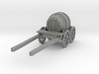 O Scale Barrel Wagon 3d printed This is a render not a picture