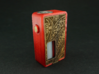 Front and Back panel for Single 18650 Squonk Mod 3d printed