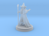 Wizard with pointy hat 3d printed