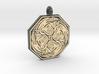 Cerridwen Octagonal Pendant 3d printed