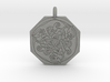 Cat Celtic Octagonal Pendant 3d printed