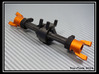 Wrapter for Losi Mini Rock Crawler 3d printed VP Wraith C-hubs