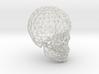 skull lattice model 3d printed