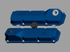 1/24 Ford 351 C valve covers 3d printed rendering of what you´ll get