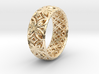 Java Ring Kawong Double Pattern 3d printed