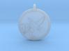 Humming bird Animal Totem Pendant 3d printed