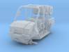 1/87 Scale MULE 4 Seater Short Bed 3d printed