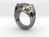 Mountain Lion Ring - Size 9 1/2 (19.35 mm) 3d printed