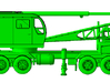 1/87th P&H Type Lattice Boom Crane  3d printed Shown with transporter, not included