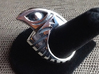 Falcon Ring 1 - Size 11 (20.57 mm) 3d printed Polished Silver