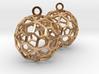 Pentagonal Hexecontahedron Earrings 3d printed