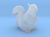 Squirrel miniature in high detail 3d printed