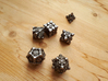 Fortress Dice Set with Decader  3d printed