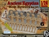 1/24 Ancient Egyptian Boat Rowers Set101 3d printed