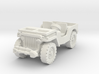 Jeep airborne scale 1/100 3d printed