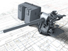 """1/72 4.7""""/45 QF MKIX CPXVII Guns Hollow Barrels x4 3d printed 3d render showing product detail"""