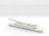 381/40 Italian railway artillery ww1 1/160 3d printed