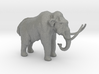 N Scale Woolly Mammoth 3d printed This is a render not a picture