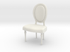 1:24 oval chair 1 (Not Full Size) 3d printed