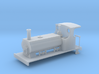 OO 0-4-0T Barclay Ogle tank loco  with cab 3d printed