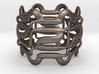 Mayan Step Ring  3d printed