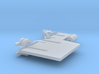 Detail Set for Lower Hull Houseboat Faller 131008 3d printed