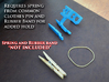 ZenClip - DJI Phantom 2 - Zenmuse H3-2D 3d printed Spring and Rubber Band - NOT INCLUDED