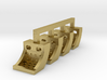 Running Board Steps, HO scale - Brass version 3d printed
