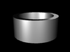 Ability Ring Size 7 3d printed recommended in Metals like silver or coated steel