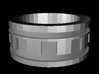 Technician's Ring Size 7 3d printed Will be smoother in final print