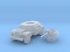 sdkfz 221 scale 1/100 3d printed
