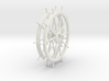 Two 10 spoke Ship's Wheels, 1:24 scale 3d printed
