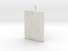 Mother Mary and Baby Christ 3d printed