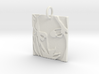 Mother Mary Abstract Pendant 3d printed