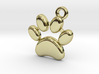 paw necklace 3d printed