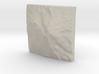 8'' Mt. Shasta, California, USA, Sandstone 3d printed