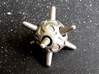 Sputnik Die6 3d printed In Stainless Steel