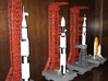 1/400 NASA LUT levels 0-2 (Launch Umbilical Tower) 3d printed My various launch pads, made by a customer who admits he has limited modelling skills. I think he's made a good job of them.