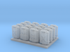 1:72 US Jerry Cans (16x) 3d printed