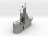 1/240 US Gato Conning Tower (Fairwater) 3d printed