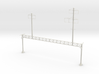 PRR NORTH PHILLY LATICE POLE STAG 16 inch stl 3d printed