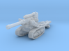 B4 howitzer scale 1/144 3d printed