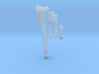 2 meter verlenggiek 1:50 miniatuur graafbakken 3d printed