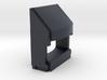 EMD draft sill (1:8) 3d printed