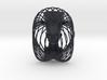 Wire Curve Art + Nefertiti (003b) 3d printed